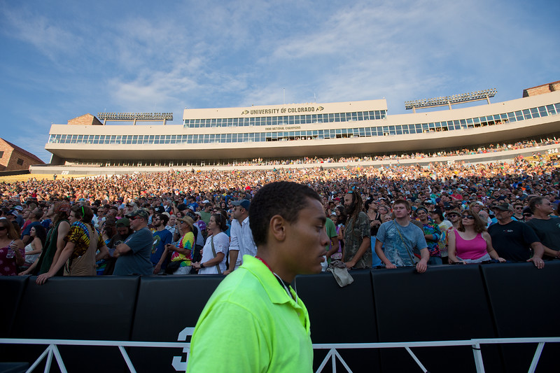 """Thousands of people attend the Dead & Company concert at the University of Colorado's Folsom Field in Boulder on Saturday.<br /> More photos:  <a href=""""http://www.dailycamera.com"""">http://www.dailycamera.com</a><br /> (Autumn Parry/Staff Photographer)<br /> July 2, 2016"""