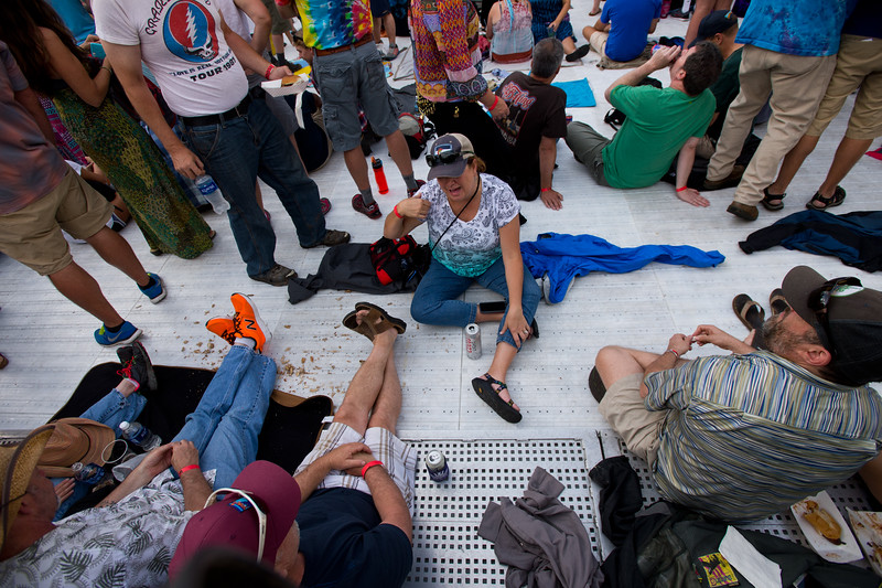 """Attendees wait for the Dead & Company concert to begin at the University of Colorado's Folsom Field in Boulder on Saturday.<br /> More photos:  <a href=""""http://www.dailycamera.com"""">http://www.dailycamera.com</a><br /> (Autumn Parry/Staff Photographer)<br /> July 2, 2016"""