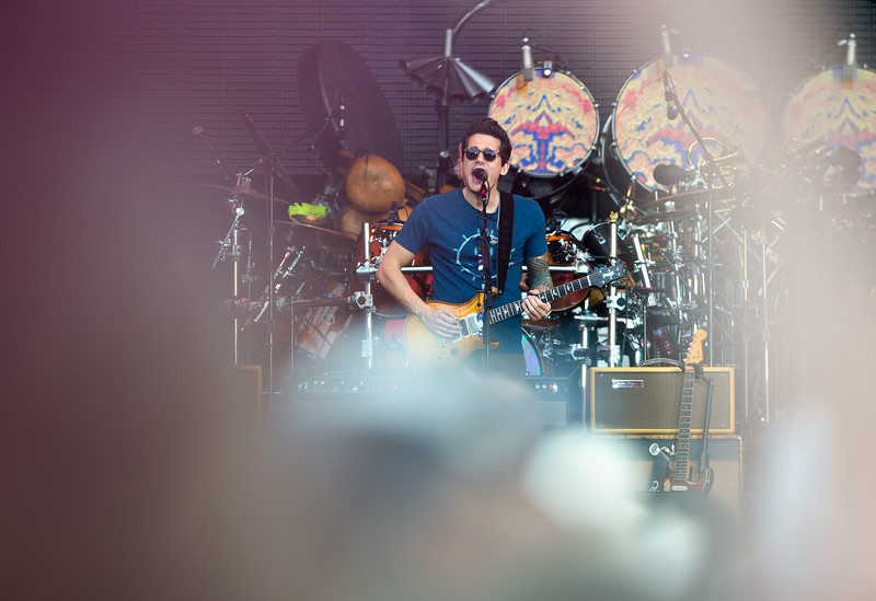"""John Mayer, with Dead & Company, performs at the University of Colorado's Folsom Field in Boulder on Saturday.<br /> More photos:  <a href=""""http://www.dailycamera.com"""">http://www.dailycamera.com</a><br /> (Autumn Parry/Staff Photographer)<br /> July 2, 2016"""