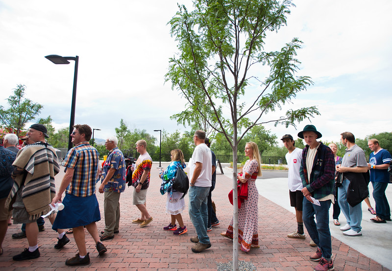 """Fans line up at the gate for the Dead & Company concert at the University of Colorado's Folsom Field in Boulder on Saturday.<br /> More photos:  <a href=""""http://www.dailycamera.com"""">http://www.dailycamera.com</a><br /> (Autumn Parry/Staff Photographer)<br /> July 2, 2016"""