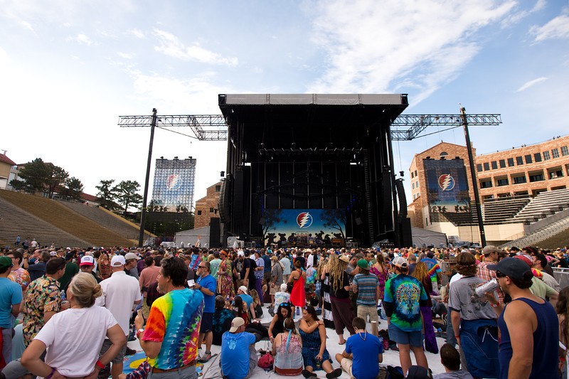 """Fans wait for the Dead & Company concert to begin at the University of Colorado's Folsom Field in Boulder on Saturday.<br /> More photos:  <a href=""""http://www.dailycamera.com"""">http://www.dailycamera.com</a><br /> (Autumn Parry/Staff Photographer)<br /> July 2, 2016"""