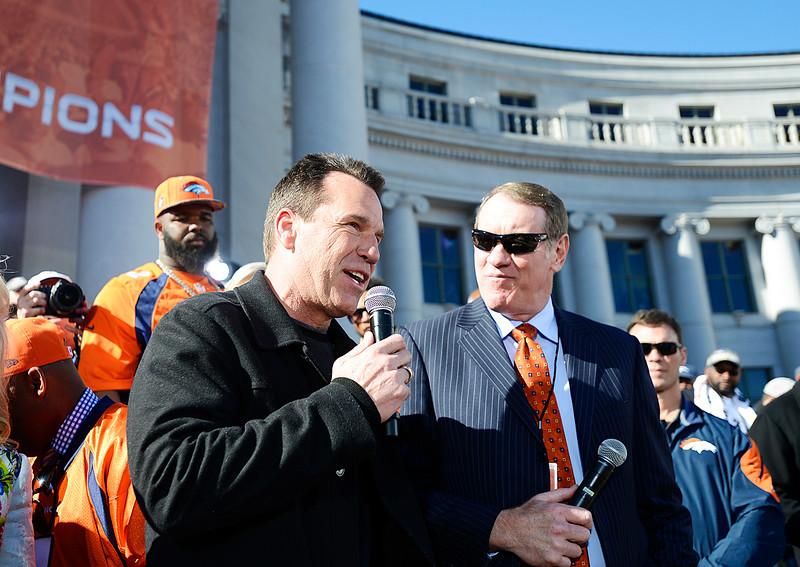 Denver Broncos Super Bowl celebration