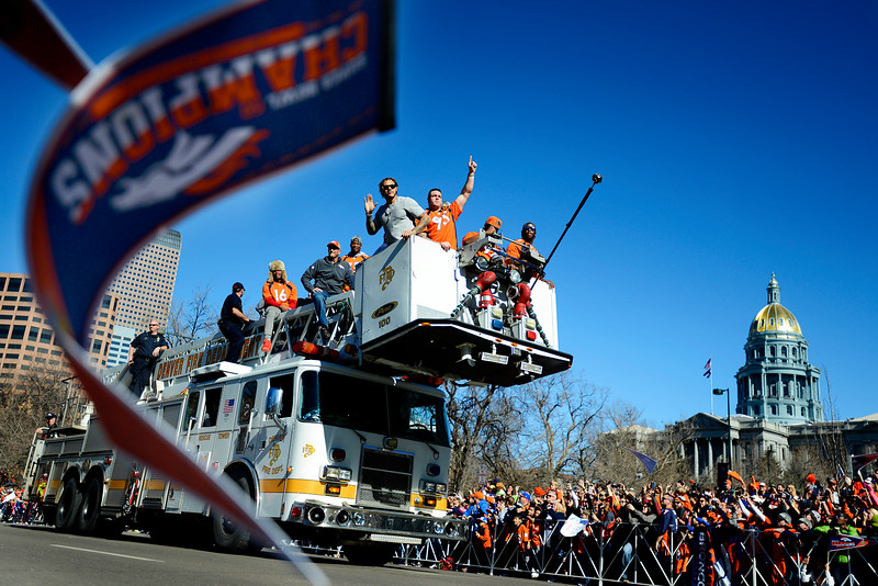 Denver Broncos Super Bowl celebration