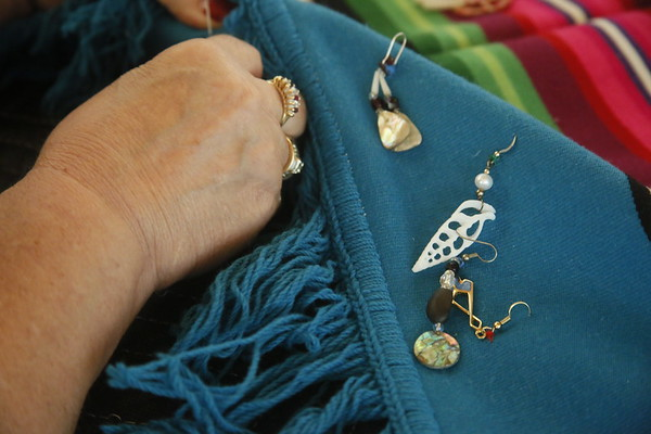 Photos: Earring exhibit calls attention to missing and murdered native women