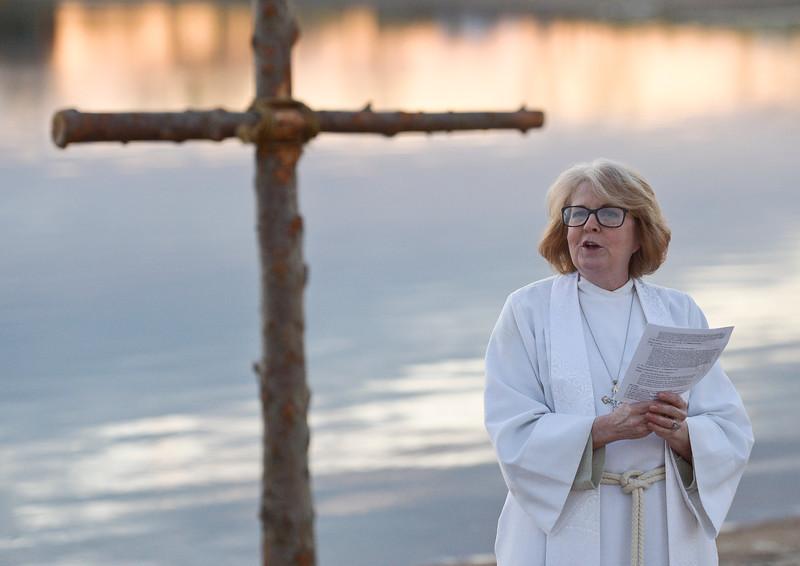 Easter Service at Boulder Reservoir