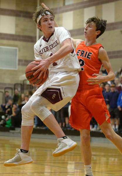 ERIE AT SILVER CREEK BOYS BASKETBALL