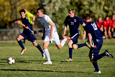 Photos: Evergreen Vs. Niwot Boys Soccer 10/26/16