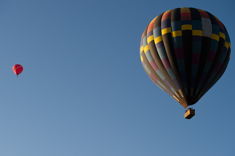 """Fair Winds Hot Air Balloon Flights launch hot air balloons from Lafayette on Friday.<br /> More photos:  <a href=""""http://www.dailycamera.com"""">http://www.dailycamera.com</a><br /> (Autumn Parry/Staff Photographer)<br /> July 8, 2016"""