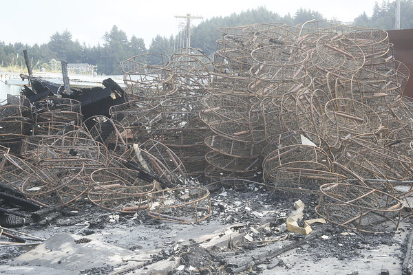 Photos: Fields Landing waterfront fire