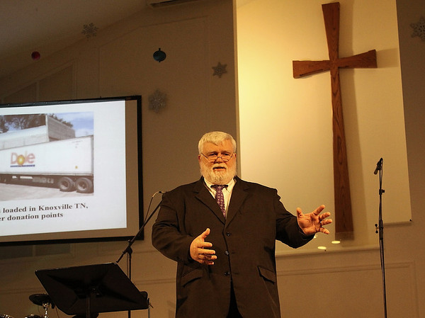 Telling Vine International story and preaching.  The time would be a waste if we did not talk about Jesus.