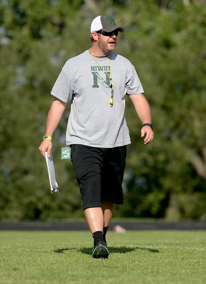 Niwot Football Coach