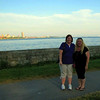 Myself and Carole by Lake Erie