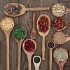 Herbs in Spoons