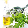 Herbs with olive oil