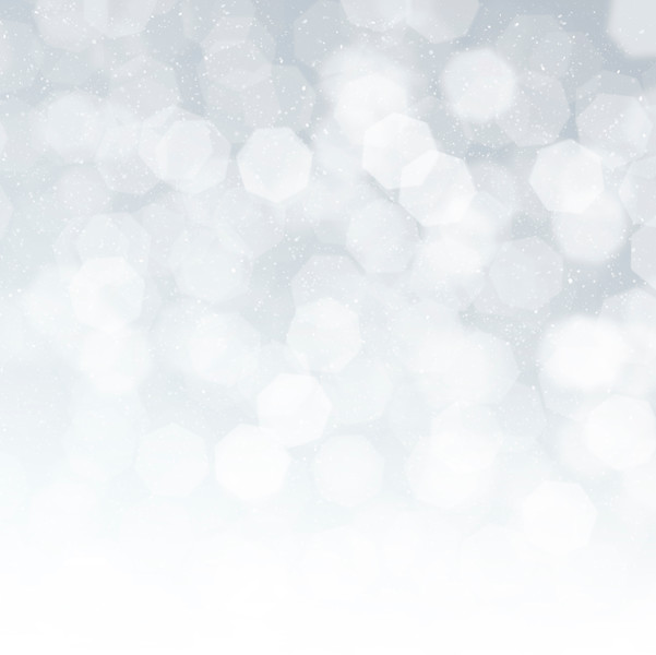 Blurred bokeh christmas background