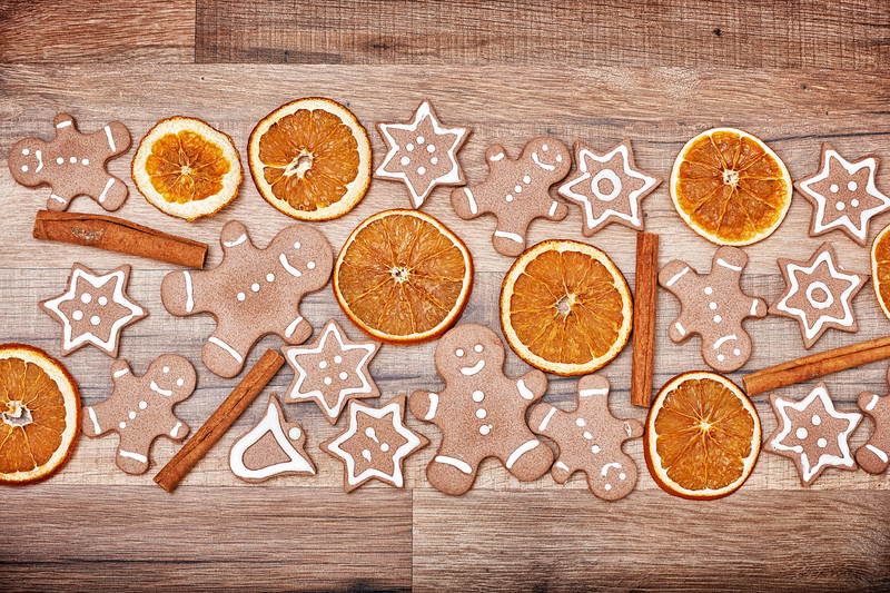 Christmas biscuits, gingerbread