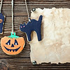 handmade cookies for Halloween