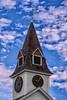 Sugar Hill Meeting House Clock