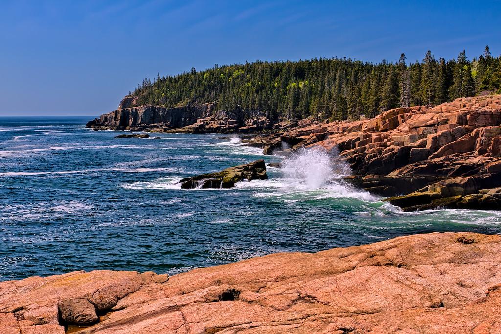 Acadia National Park Coast