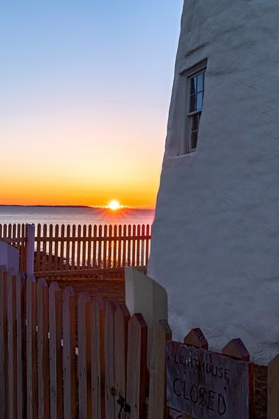 Pemaquid Point Lighthouse Sunrise