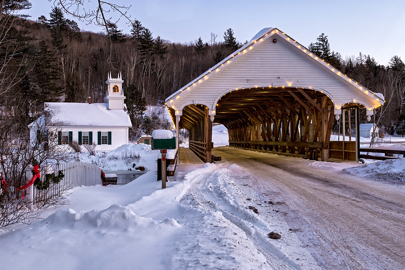Stark Union Church and Stark Covered Bridge