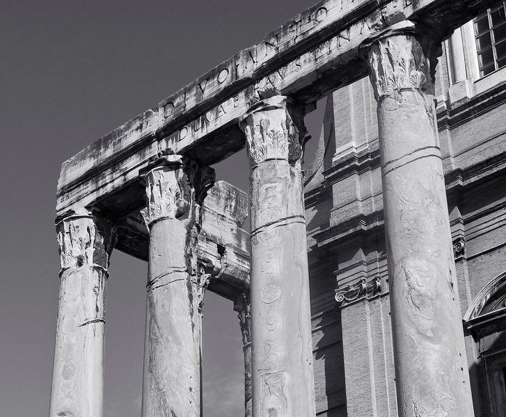 The Roman Forum, Temple of Antoninus Pius & Faustina <br /> 138-161 AD
