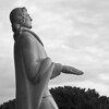 Statue of Roger Williams, the founder of Rhode Island<br /> Providence, RI