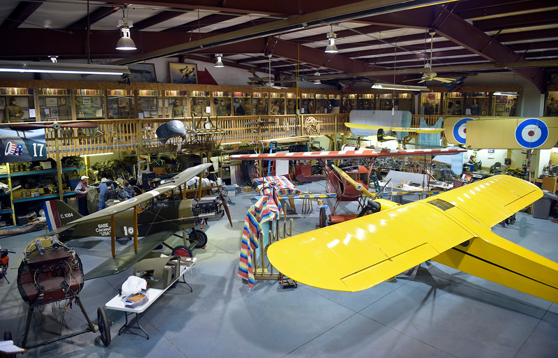 MILITARY AIRPLANE MUSEUM