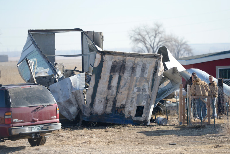 WELD COUNTY SEMI TRAILER FIRE
