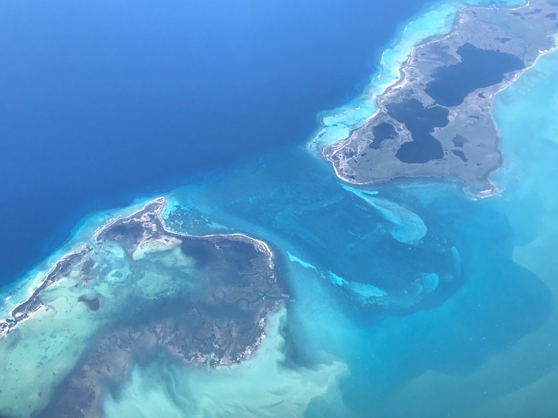 Cayo Anclitas, off the southern coast of Cuba, is the island in the lower left.