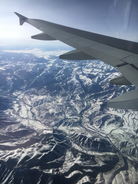 Again, Aspen, Aspen Highlands, and Snowmass ski areas in view.