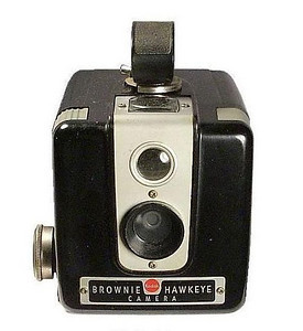 My first camera, bought when I was about 11 years old.  Shot - and developed - quite a bit of film using that camera.