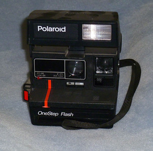 Probably every photographer - amateur and professional - over the age of 50 has owned at least one Polaroid camera.  This is the only one I still have, out of 3 or 4 I've owned.