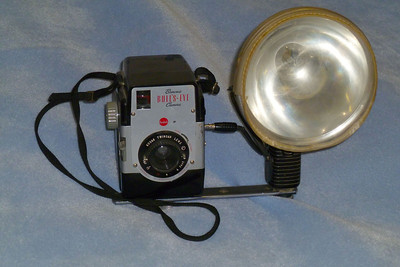 Inherited this camera when my mother passed away in 1960.  She had a lot of fun taking photos with it for years.