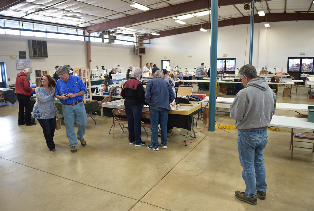 . The Front Range Coin Club\'s coin show at the Boulder County Fairgrounds Sunday. To view more photos visit timescall.com. Lewis Geyer/Staff Photographer March 11, 2018