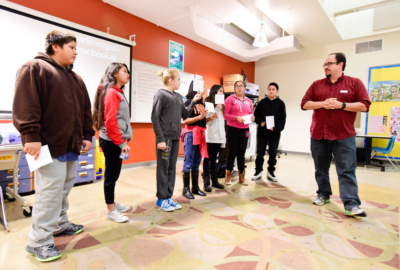 Photos: Google Software Engineer Visits Timberline K-8