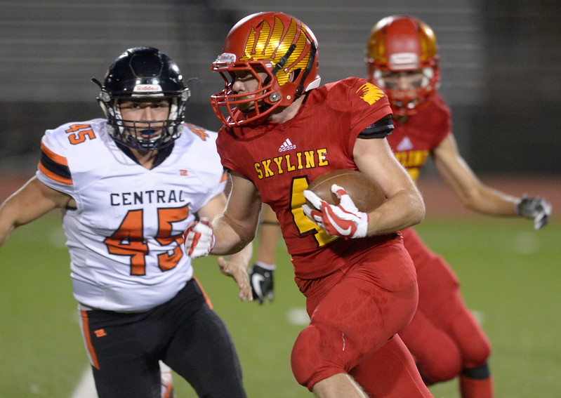 GREELEY CENTRAL AT SKYLINE FOOTBALL