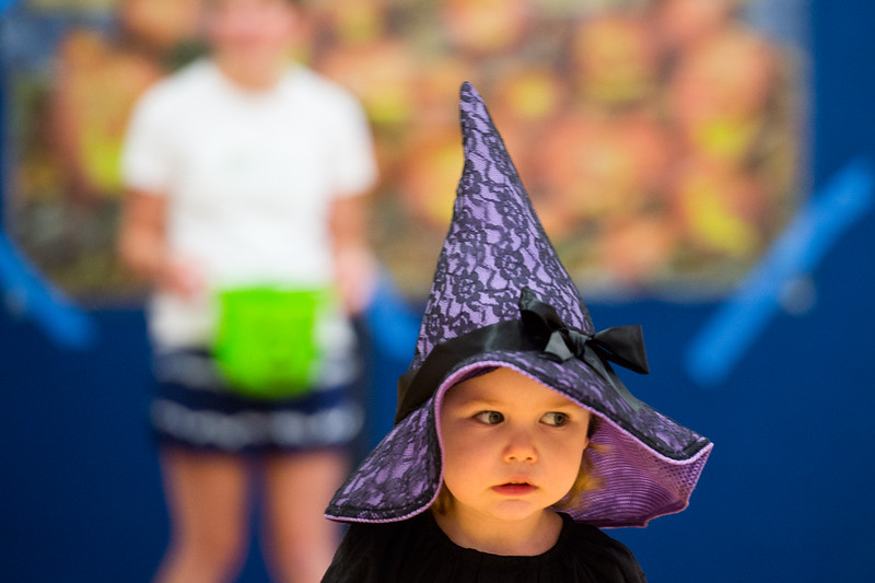 """Willa Babcock, 2, dressed as a witch for the Halloween Carnival at the South Boulder Recreation Center on Friday.<br /> More photos:  <a href=""""http://www.dailycamera.com"""">http://www.dailycamera.com</a><br /> (Autumn Parry/Staff Photographer)<br /> October 28, 2016"""