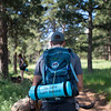 """Stephen Hillen, co-founder of Hike Doggie, carries a waste container during a hike with Kath Allen at Chautauqua Park on Friday. <br /> More photos:  <a href=""""http://www.dailycamera.com"""">http://www.dailycamera.com</a><br /> (Autumn Parry/Staff Photographer)<br /> June 17, 2016"""