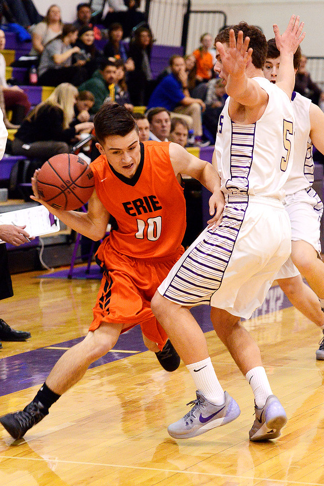 Erie High School verse Holy Family basketball