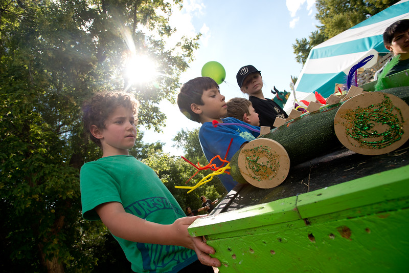 "Leo Tritt, 7, waits to race his zucchini car down the ramp, during the Hometown Fair in Boulder's Central Park on Sunday.<br /> More photos:  <a href=""http://www.dailycamera.com"">http://www.dailycamera.com</a><br /> (Autumn Parry/Staff Photographer)<br /> September 4, 2016"