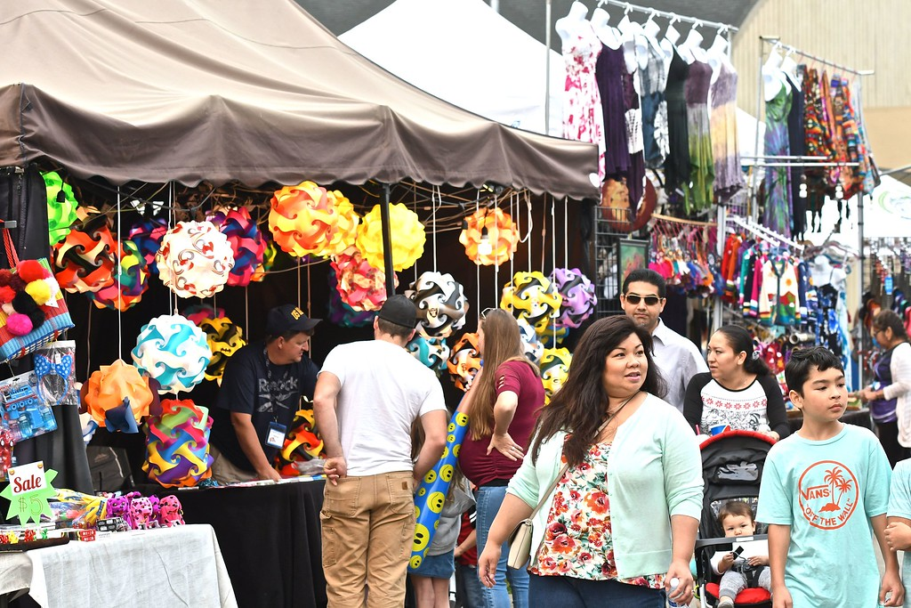 . The midway venues were a mix of color and light in the waning day hours of the last day of the fair. José Quezada�For Times-Standard