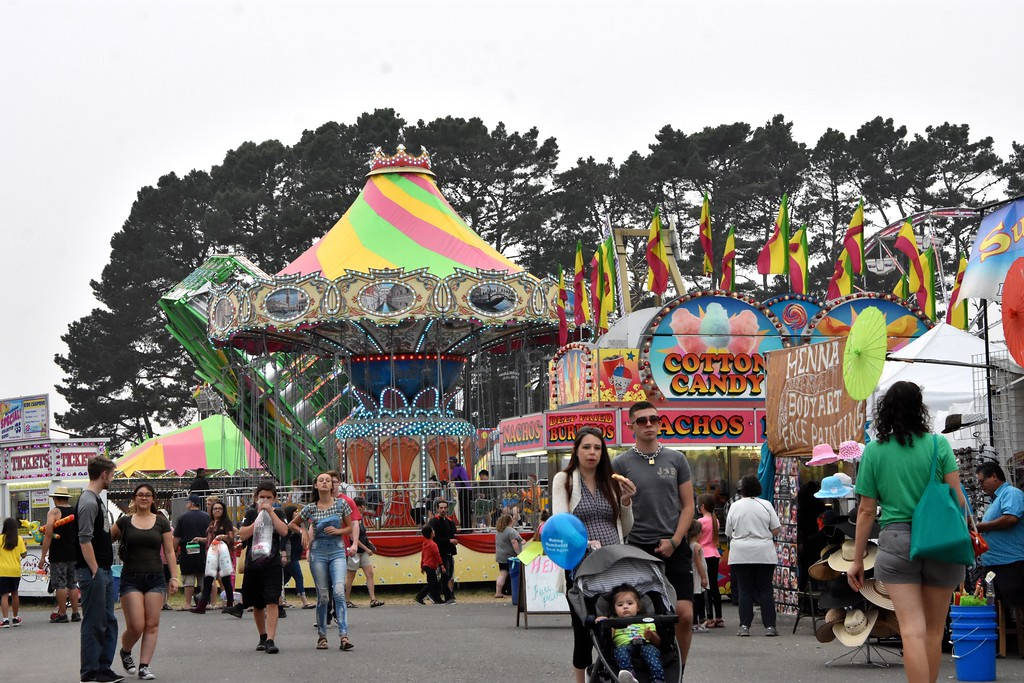. One last evening coming on for the last day of the 121st Humboldt County Fair. José Quezada�For Times-Standard