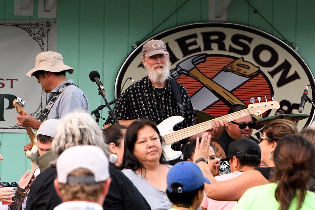 . Merv George Band at Friendship Square. José Quezada�For Times-Standard