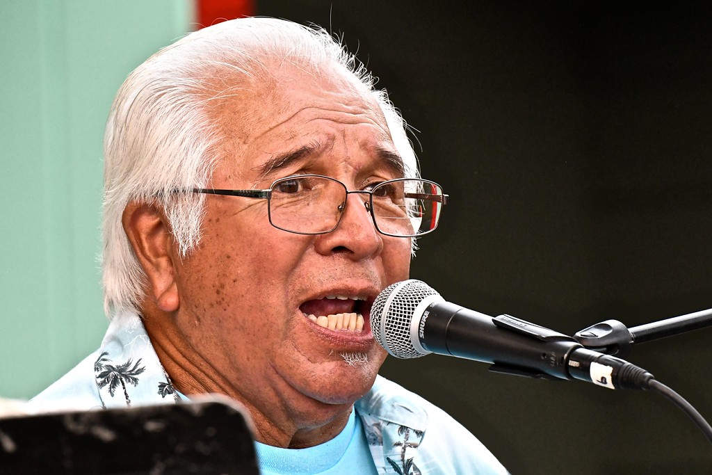 . The local legend Merv George. José Quezada�For Times-Standard