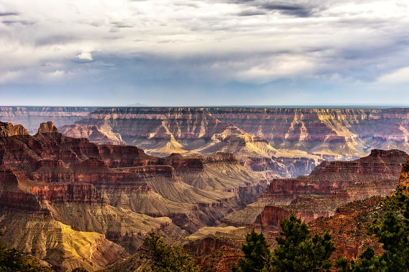 Bright Angel Point, Grand Canyon NP, North Rim
