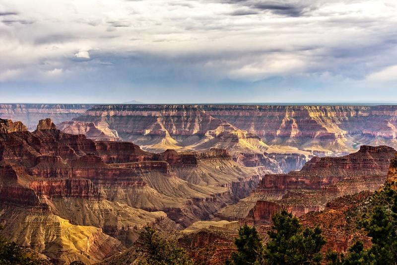 Bright Angel Point, Grand Canyon NP, North Rim