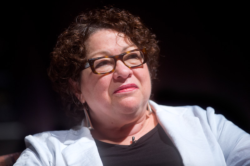 "U.S. Supreme Court Justice Sonia Sotomayor speaks at Macky Auditorium at the University of Colorado Boulder on Friday. <br /> More photos:  <a href=""http://www.dailycamera.com"">http://www.dailycamera.com</a><br /> (Autumn Parry/Staff Photographer)<br /> September 2, 2016"