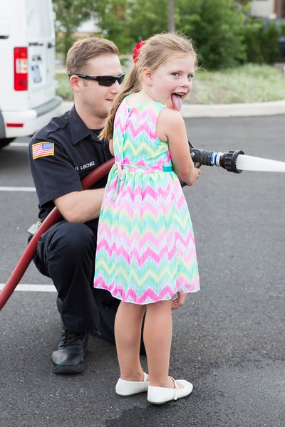 The Lansdale Police Department connected with the community at the National Night Out Aug. 1. (Rachel Wisniewski -- For Digital First Media)