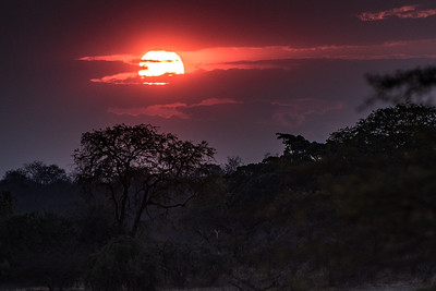 Sunset, Vwaza Marsh Wildlife Reserve